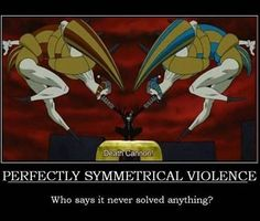 Symmetrical Violence! Only Death the Kid:)