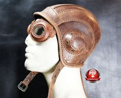 Read before you purchase! This is a digital download and not an actual cap! The PDF file contains patterns in actual size for the Aviator Cap shown in the pictures I recommend using thick natural leather at least 0.04 inches thick for getting the best result I strongly recommend following the build along pictures linked here: http://www.dieselpunk.ro/aviator-cap-diy.html VIDEO of the build here: https://youtu.be/UQvTv63nSQ8 It will fit most adult heads and it ...