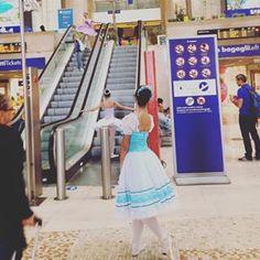 beatris.u #Milano #stazionecentrale #piccole #ballerine