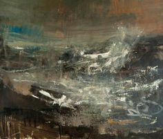 Your Paintings - Joan Kathleen Harding Eardley paintings Seascape Paintings, Your Paintings, Landscape Paintings, Gallery Of Modern Art, Wave Art, Abstract Landscape, Abstract Art, Dark Landscape, Impressionist Landscape