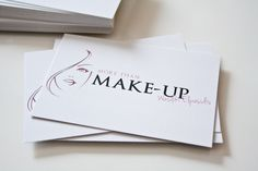 Visitenkarten & Logo Design für More Than Make-Up