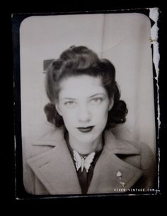 Early 1940s photobooth photo