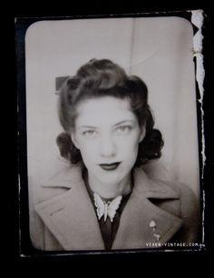 Early 1940s photobooth photo