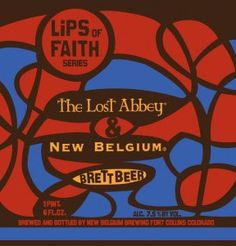 BRETT BEER, by The Lost Abbey & New Belgium Brewing