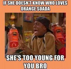 Who loves orange soda?!? Kel loves orange soda!!!