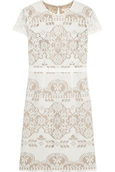 Collette by Collette Dinnigan Knitted lace dress | NET-A-PORTER