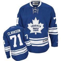 Toronto Maple Leafs 71 David Clarkson Third Jersey - Royal Blue