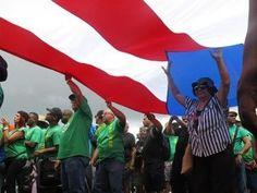 Protestas en Puerto Rico por medidas de austeridad