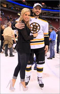 Milan Lucic and girlfriend