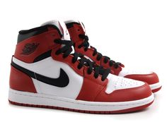 Nike Air Jordan 1 Retro White / Varsity Red / Black
