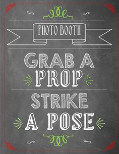 Photo booth Christmas sign. Printable PDF. Home holiday decoration. Ugly sweater photo booth.