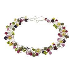 Rose Garden Shaggy Loops Bracelet Kit   Fusion Beads