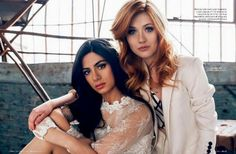 Emeraude and Kat remind me of two characters I'm writing Leila and Evony