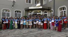 Porque no todo son bodas y eventos familiares en Los Robles, la semana pasado tuvimos la oportunidad de acoger la celebración de la Licenciatura de Educación Infantil. Enhorabuena!!!!