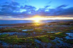 Puesta de sol en Pelluhuin - Puerto Montt (Patagonia - Chile)