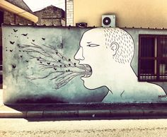A selection of street art creations of the Italian artist Francesco Camillo…