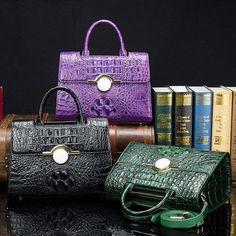 Crocodile Leather Handbags Shoulder Bags Satchel Bags