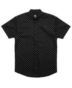 Publish - Clint S/S Button-Up Shirt (Black/3M) – Attic