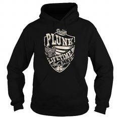I Love Last Name, Surname Tshirts - Team PLUNK Lifetime Member Eagle T-Shirts