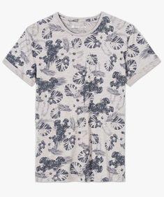 Tee-shirt imprimé manches courtes | GÉMO