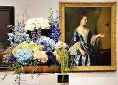 Milwaukee Art Museum Art in Bloom flower arrangement #flowers