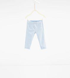 Denim leggings-JEANS-BABY GIRL   3 months-3 years-KIDS   ZARA United States
