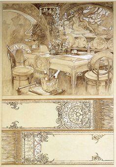 alphonse+mucha+art | Alphonse Mucha Art Gallery 36 | Paintings Art Gallery