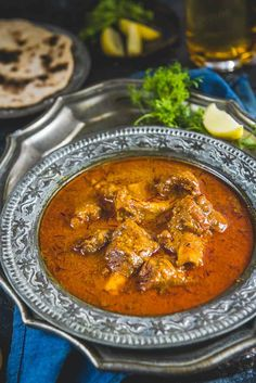 Mutton Korma is one of the best mutton recipes to try. It is cherished as an authentic Lucknowi/Awadhi dish which is rich and full of flavours. Not to mention that it was loved by Mughal rulers as well. So make it for a family feast and have a good time Indian Chicken Recipes, Lamb Recipes, Veg Recipes, Curry Recipes, Indian Food Recipes, Asian Recipes, Cooking Recipes, Healthy Recipes, Kerala Recipes