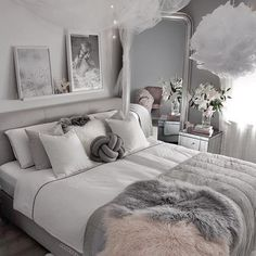 ✔ 87 cozy home decorating ideas for girls' bedrooms that you must know 85