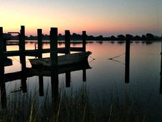Beautiful sunrise in Beaufort, North Carolina.  (Photo by Betsy Cartier)
