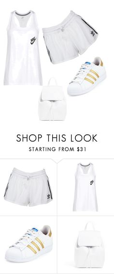 """Sport"" by adela-2903 ❤ liked on Polyvore featuring beauty, adidas Originals, NIKE and adidas"