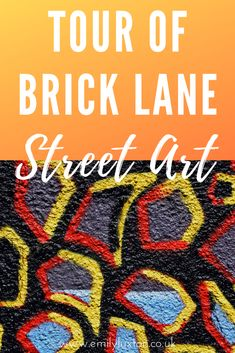 This self-guided Brick Lane street art walking tour explores the hotspots along Brick Lane and its surrounding side streets. A perfect first-timer's guide to the East London street art scene Amazing Street Art, Brick Lane, Art Walk, London Street, East London, Walking Tour, Self, Tours, Map