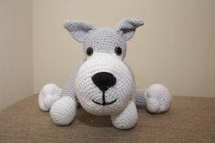 Crochet wolf, dog