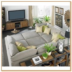 Pit Sectional Couches harper fabric 6 piece modular chaise & ottoman, sectional sofa in