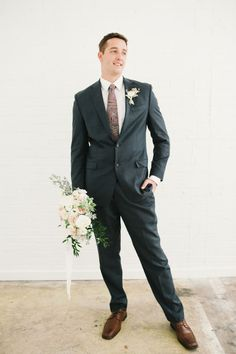 #Groom Style | Jessie Alexis Photography | See more on SMP --  http://www.StyleMePretty.com/utah-weddings/salt-lake-city/2014/01/10/golden-glamor-wedding-inspiration/