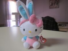 Hello Kitty Easter Bunny my little one is getting one from the Easter bunny so cute