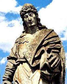 Profeta Daniel - Escultura de Aleijadinho - Congonhas do Campo - Brasil