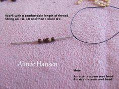 Bead-ah: The Pondo stitch