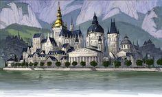 Film: Hotel Transylvania ===== Setting: Hotel Transylvania ===== Artist: Luc Desmarchelier