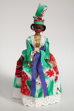 Guadeloupe | Caribbean doll in national costume