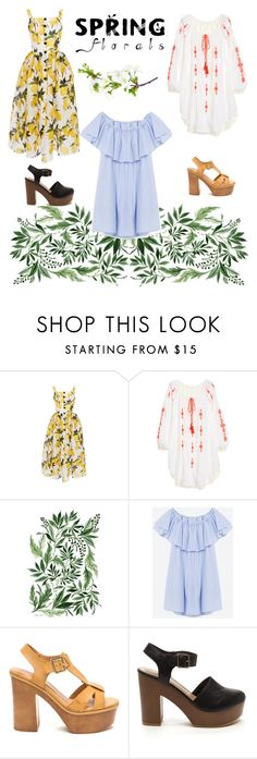"""spring godess"" by ilinca-the-great ❤ liked on Polyvore featuring Dolce&Gabbana"