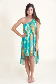Beautiful Outlaw Dress-Aqua