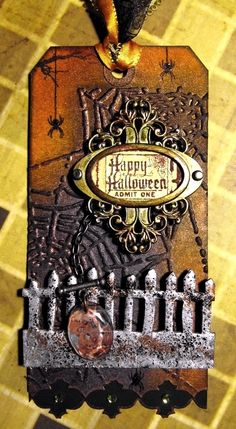 Halloween Tag With @Tim Holtz