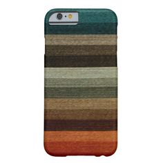 Vintage illustration retro graphic design pattern with stripes in warm autumn colors ranging from earthy tones in reds, oranges and browns to green and blue tones.