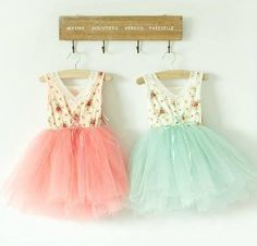 The perfect tutu for a fling with spring!  Stretchy cotton top edged in lace, with lacing detail in front atop a full, fluffy tutu skirt.  Cotton top is white with a floral pattern.  Available in pink or mint in sizes 2T, 3T, 4T, and 5T.