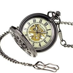 Night Vision Pacifistor Black Men's Hand Wind Up Semi Automatic Skeleton Mechanical Pocket Watch Included Chain #PX-013-B Pacifistor http://www.amazon.com/dp/B00HWQX3I6/ref=cm_sw_r_pi_dp_2T0jwb0P7C4EP