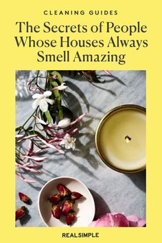 Secrets of People Whose Houses Smell Amazing | We share how to deodorize and improve the smell of your home with these expert tips and tricks that they use to keep their homes smelling fresh and clean. #cleaningtips #cleanhouse #realsimple #stepbystepcleaning #cleaninghacks #cleaningguide House Smell Good, House Smells, Deodorize House, Shower Rod, Laundry Hacks, Fresh And Clean, Clean House, Safe Food, Cleaning Hacks