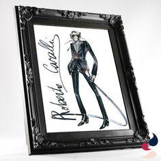 Elegante opção de presente, este porta retrato pode servir de moldura para uma ilustração de sua escolha!