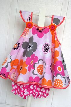 Mod swing dress ~ This is SOOO cute!!! I think I need to make some for next summer!!!