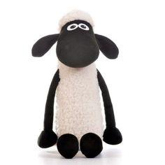Ovečka Shaun - Plyšová ovečka sedící, 30 cm
